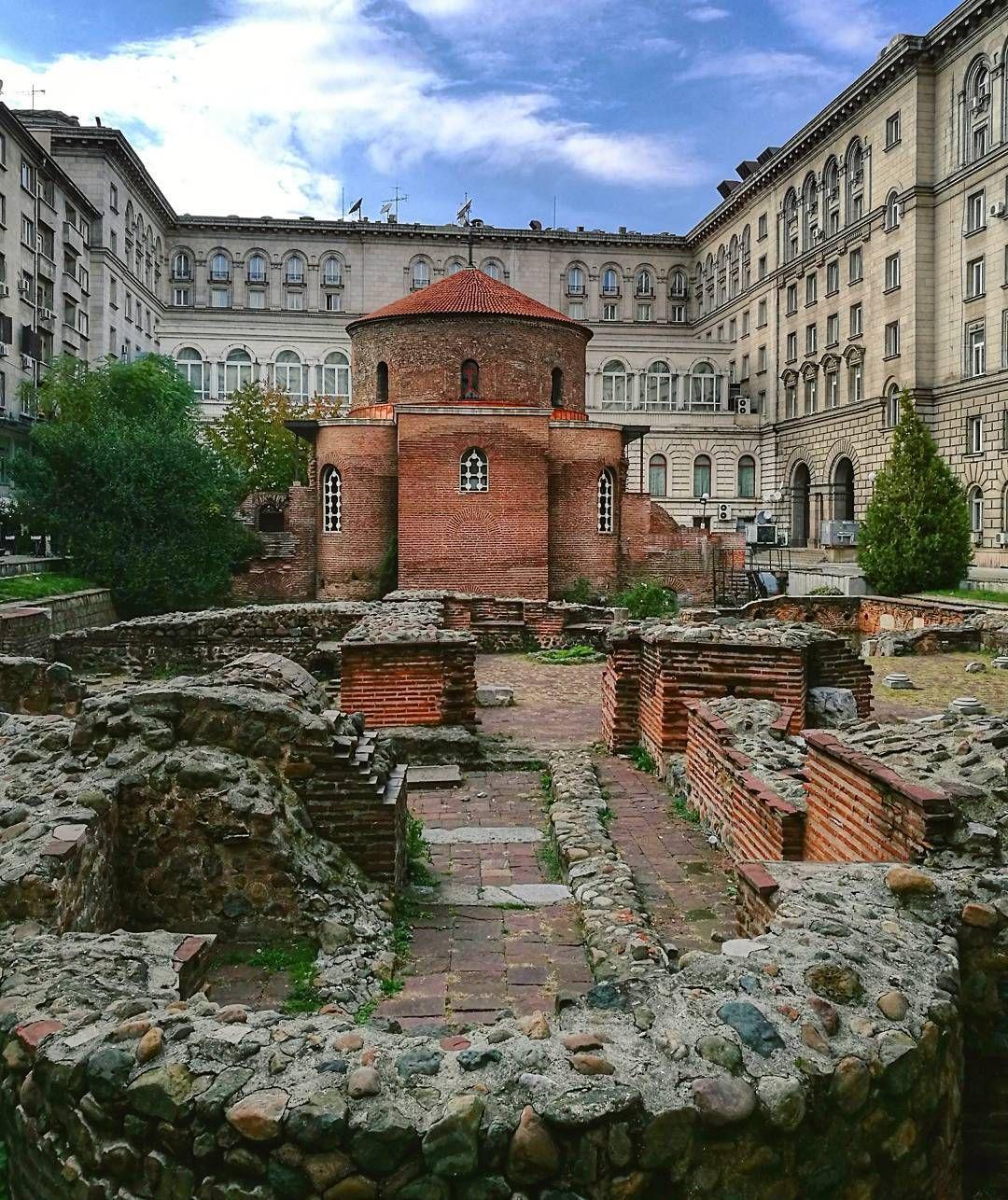 La Rotonda de San Jorge, Fuente: Instagram, @akulka174 - Qué ver en Sofía