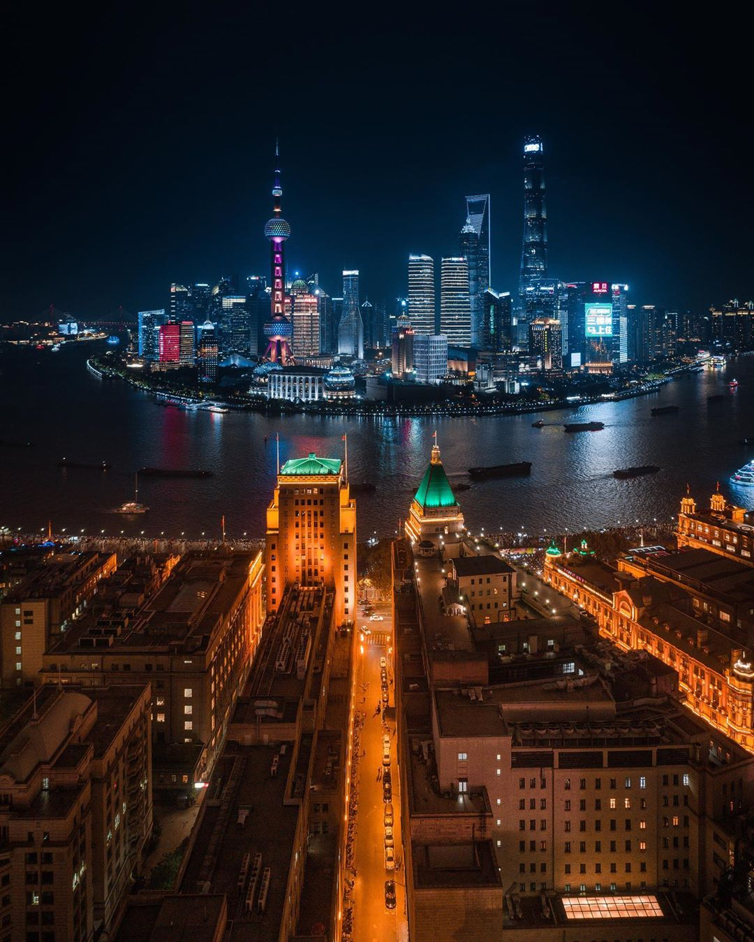 The Bund y Lujiazui