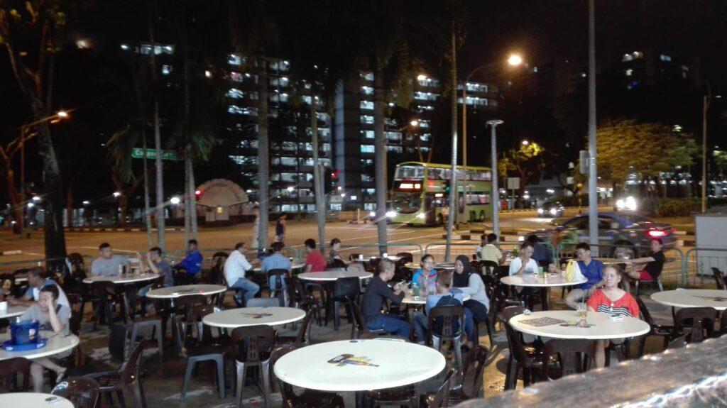 Hawker en Jurong