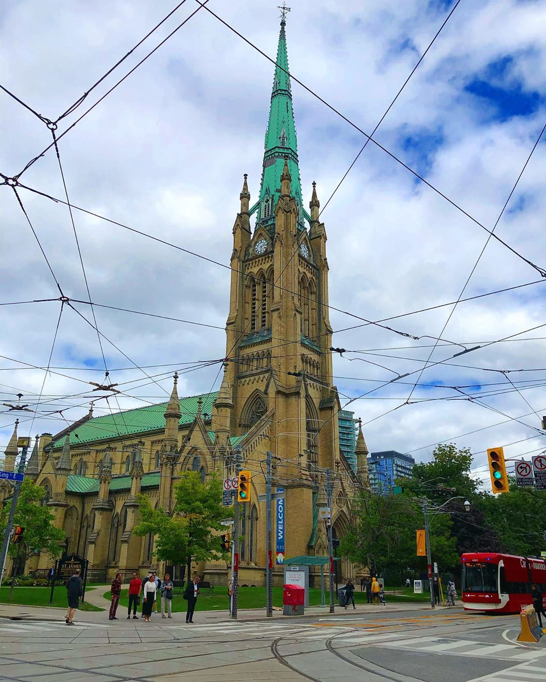 St James Cathedral Toronto