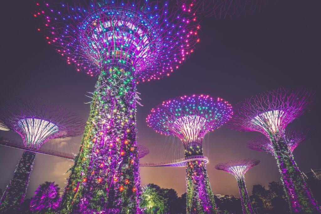 Visitar Singapur: Jardines verticales