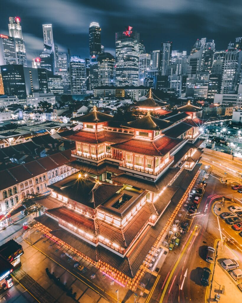 Visitar Singapur: Templo taoísta en Chinatown