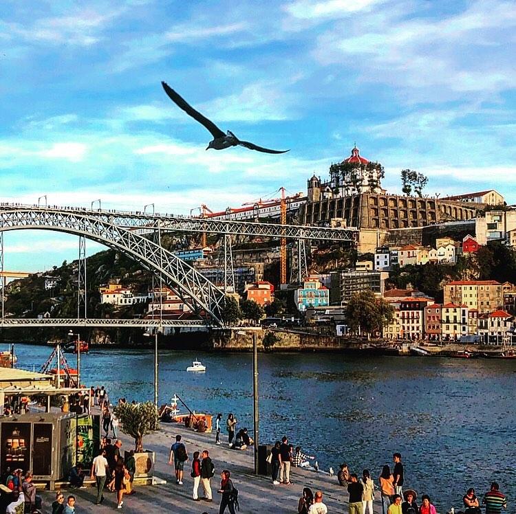 Vistas del Duero en Oporto