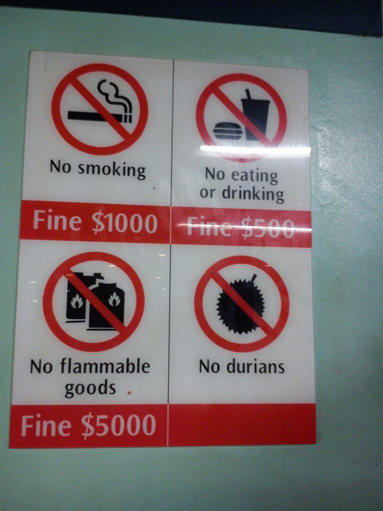 Prohibiciones en el transporte