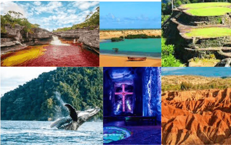lugares para viajar a Colombia