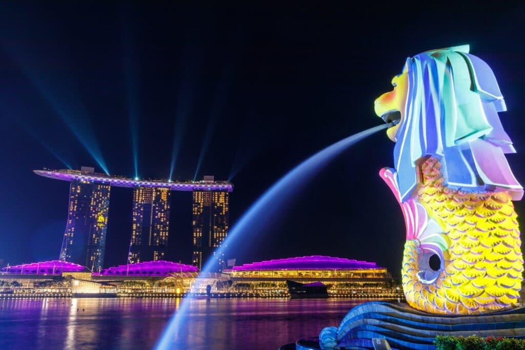 Que ver en Singapur: Merlion