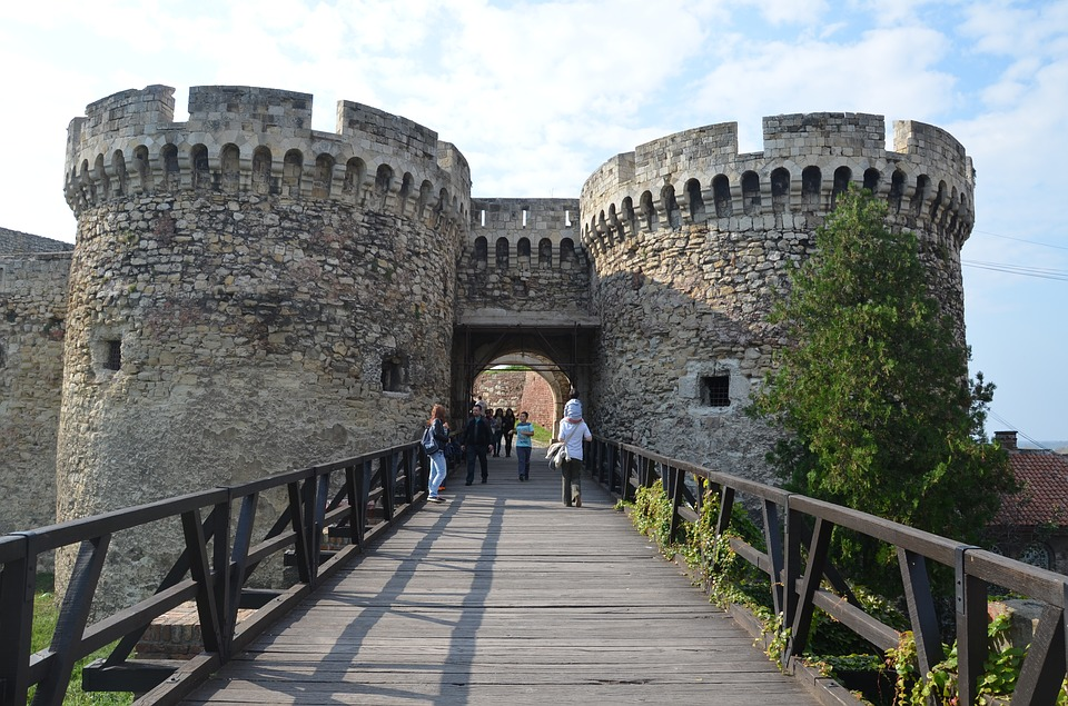 Fortaleza Kalemegdan, Fuente: bdane, Pixabay