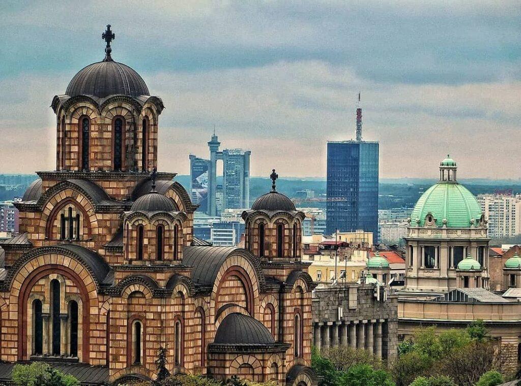 La Iglesia de San Marcos, Fuente: @kulturni.beograd, Instagram - Que ver en Belgrado - la capital de Serbia