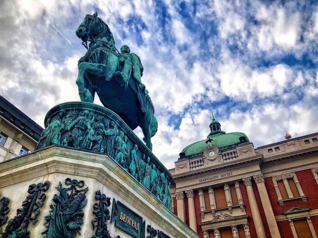 La Plaza de la República, Fuente: @ma.shnica, Instagram - Que ver en Belgrado - la capital de Serbia
