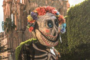 La Catrina, la imagen más conocida del Día de muertos