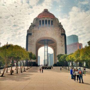 Imagen del Monumento a la Revolución
