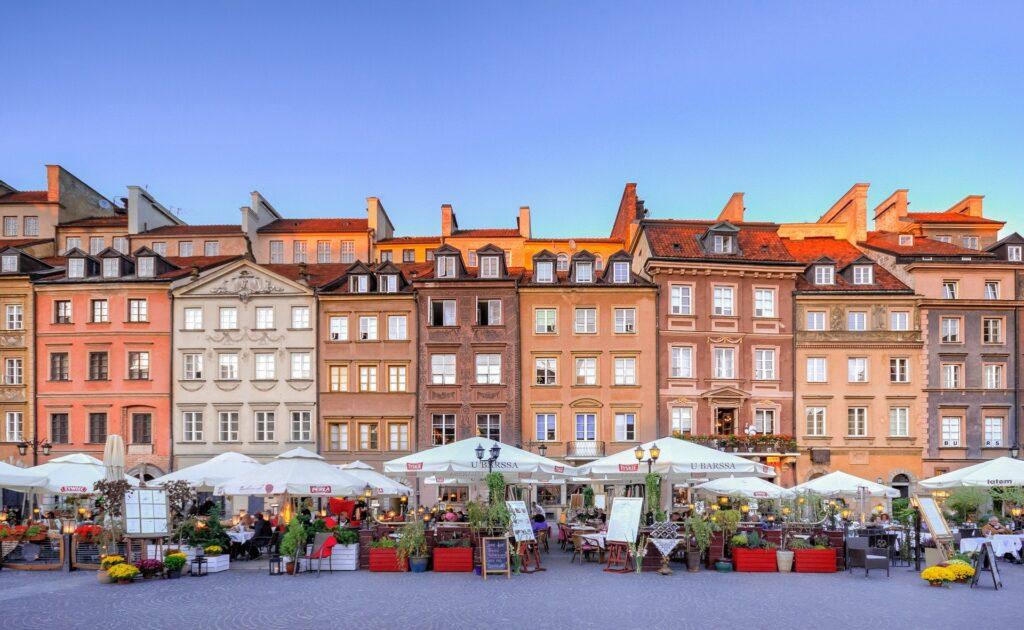 15 lugares de interés en Varsovia
