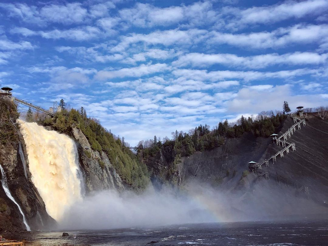 Chute-Montmorency cataratas Quebec