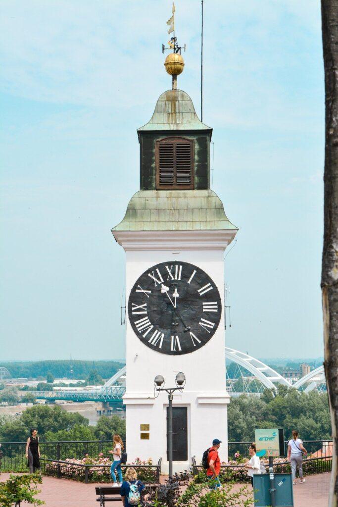 La Torre de reloj de la fortaleza, Fuente: Ionut84, Pixabay