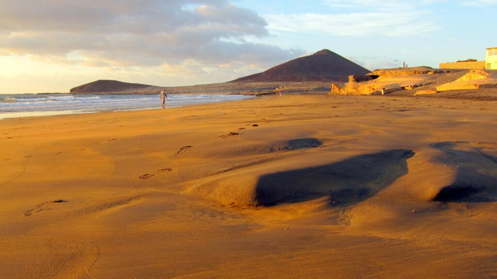 Playa del Médano en Tenerife. Donde alojarse en tenerife
