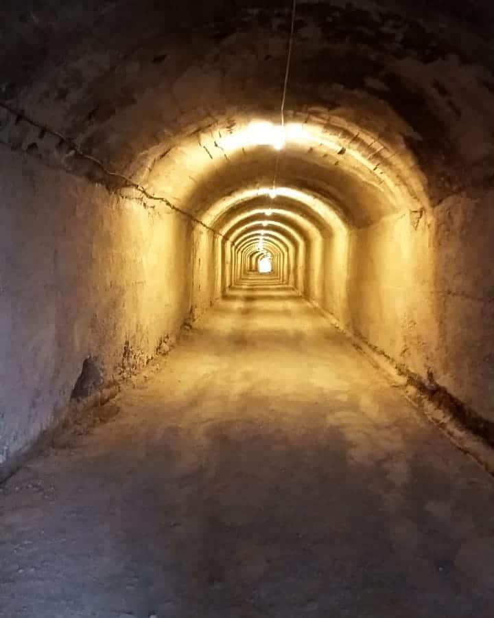 tunnel bunkar1 bunker albania