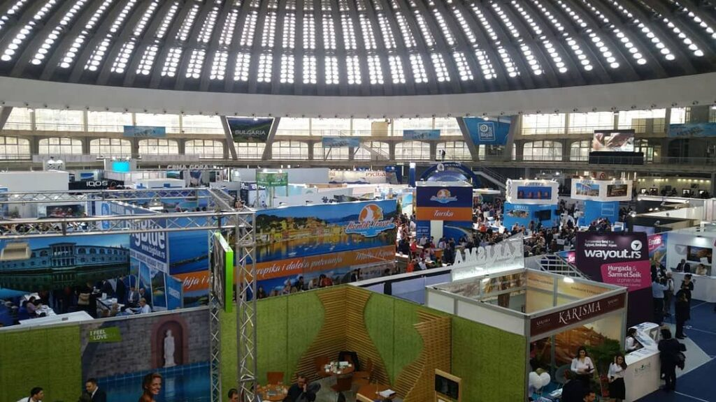 Feria de turismo de Belgrado, Fuente: @ta_ras-Instagram