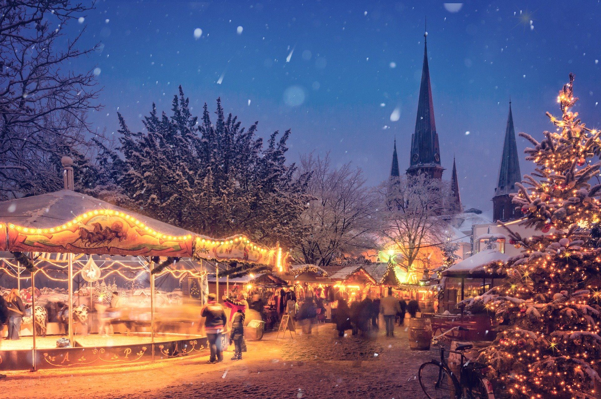 Mercadillos de Navidad en Suiza