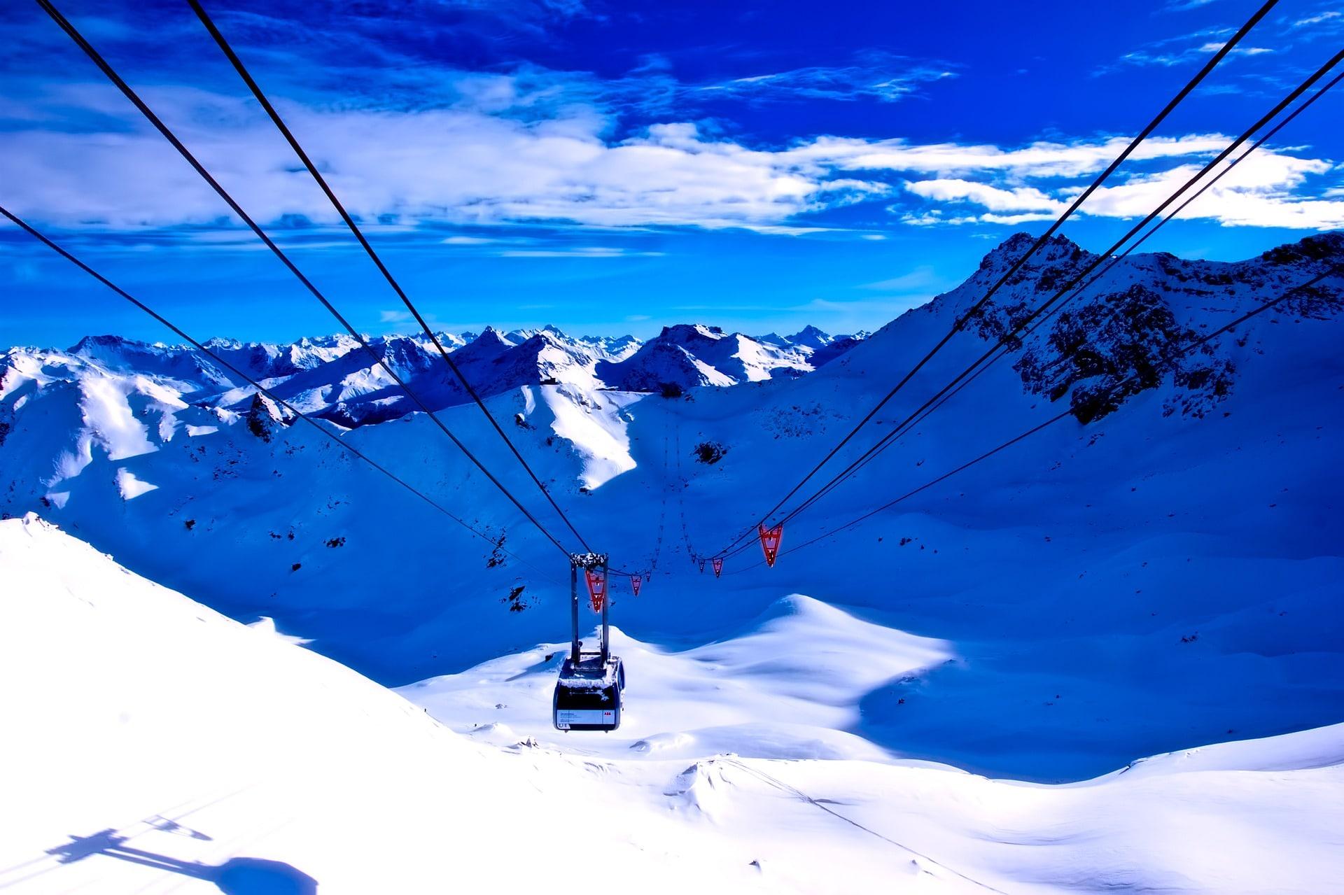 Esquí en Navidad en Suiza