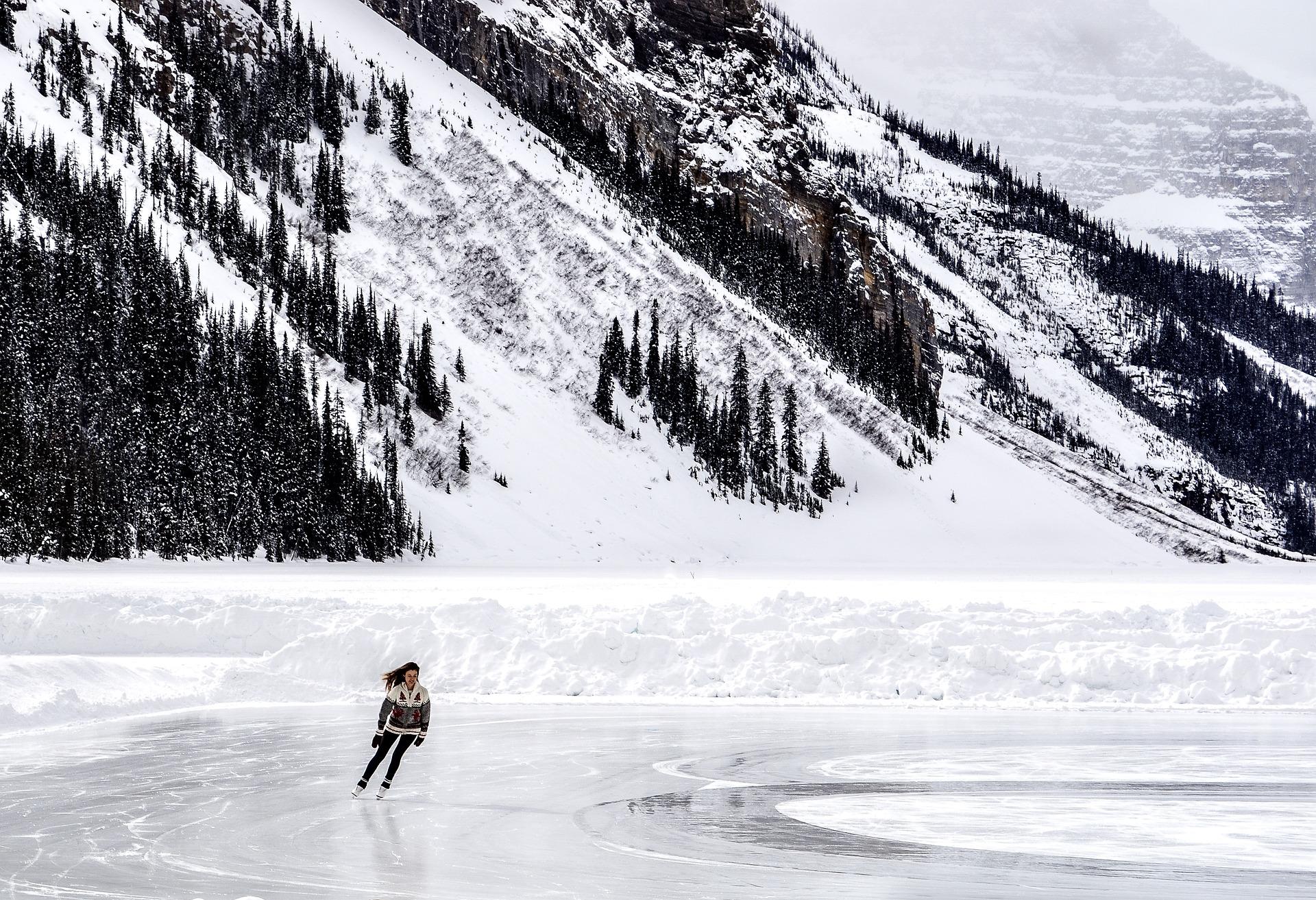 Pistas de patinaje sobre hielo