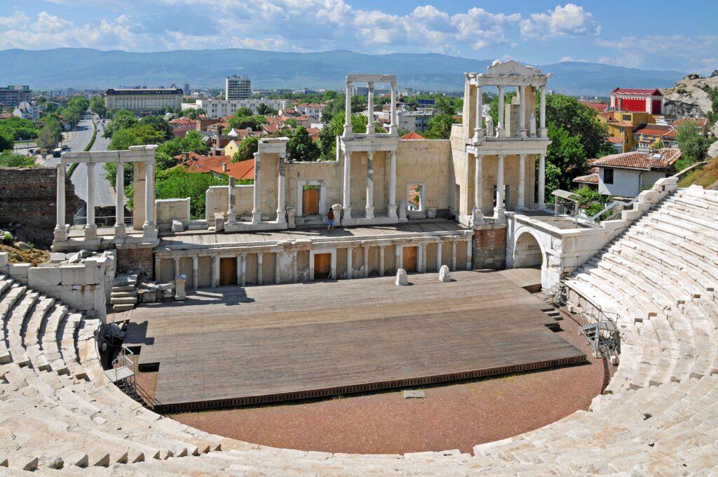 El Teatro Romano de Plovdiv, Fuente: Wikipedia