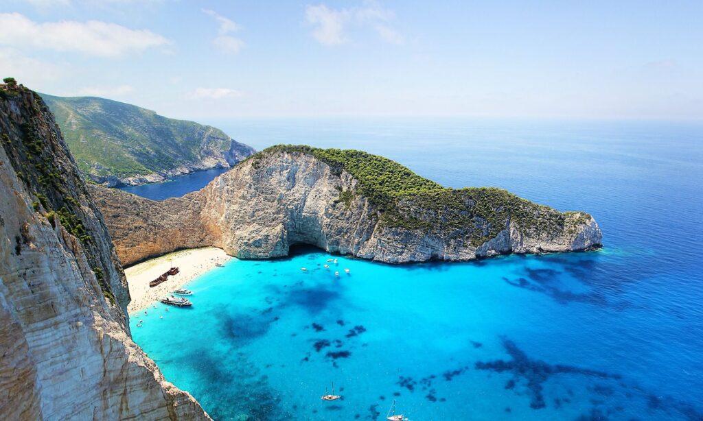 Las Islas Griegas. La isla de Zante. Fuente: GregMontani, Pixabay