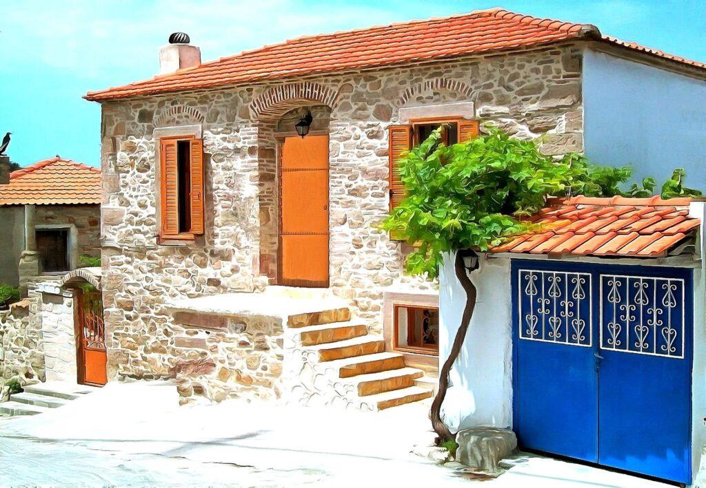 La isla de Lesbos. Fuente:Renaki-Pixabay