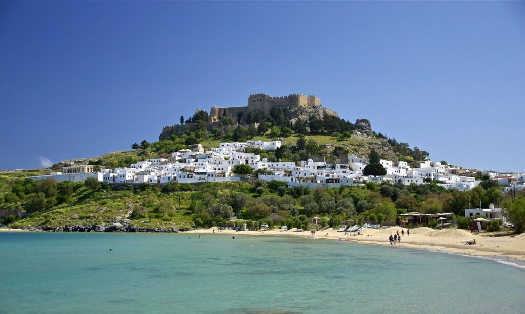 Las islas griegas. La isla de Rodas. Fuente: tpsdave-Pixabay