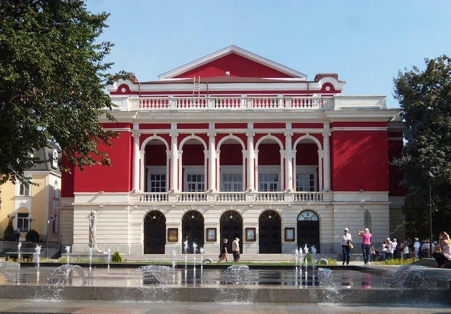 Qué visitar en Ruse y sus alrededores. La Ópera de Ruse. Fuente: Wikipedia
