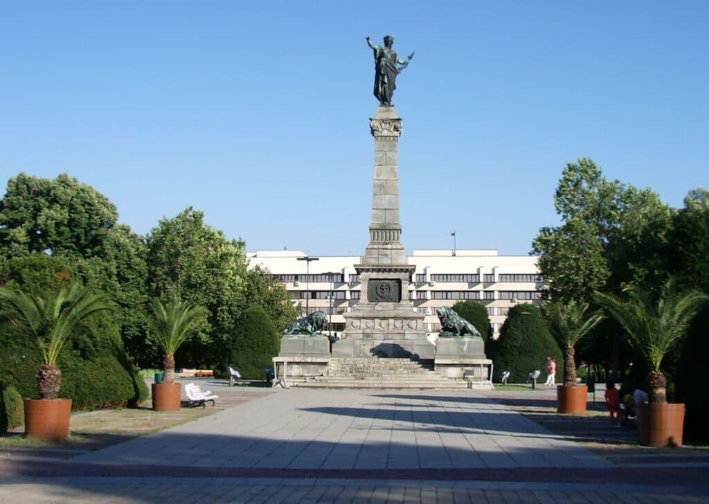 El centro de Ruse. Fuente: Wikipedia