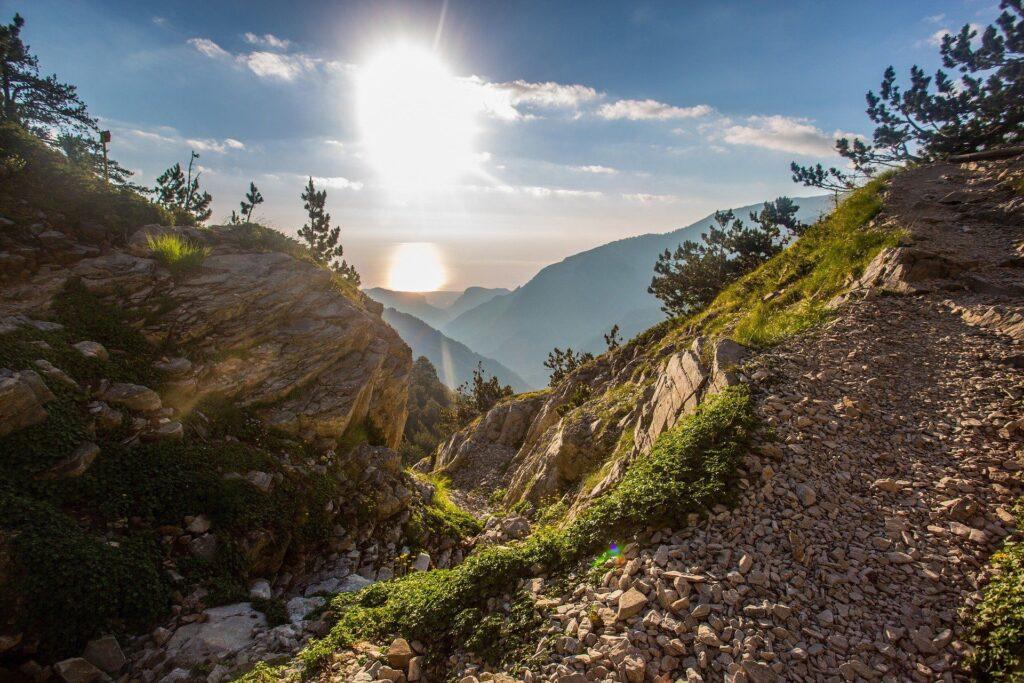 El Monte Olimpo. Fuente: Free-Photos. Pixabay
