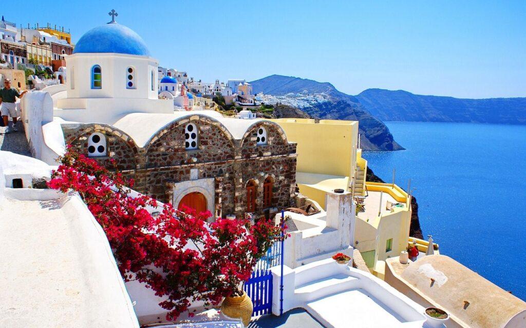 Guía para visitar la Isla de Santorini. Fuente: 5StarsDay,Pixabay