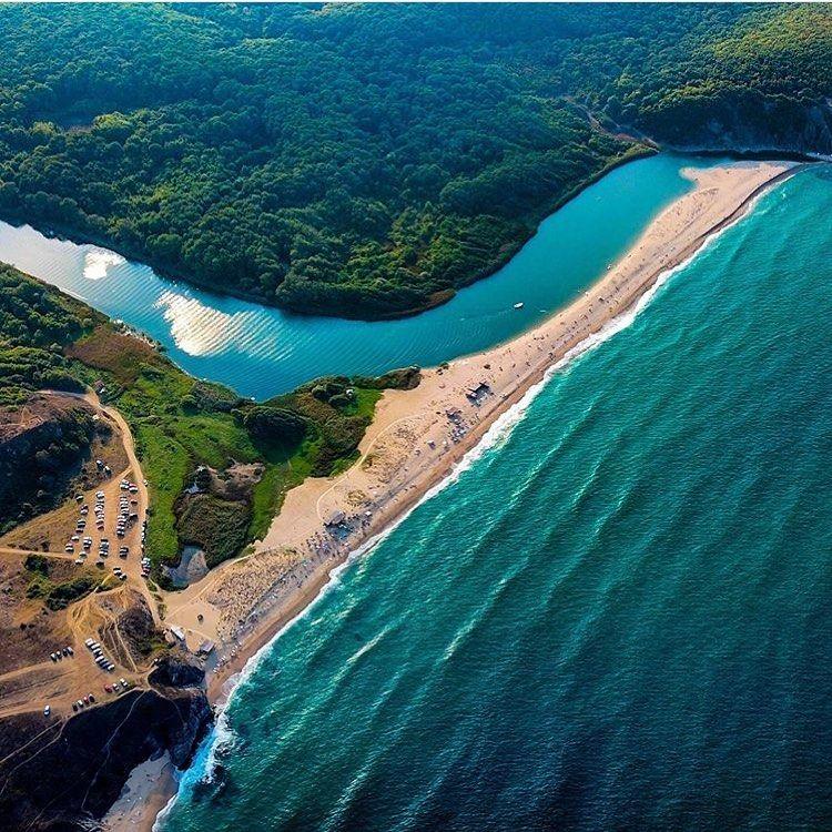 Las mejores playas de Bulgaria. La playa de Veleka. Fuente: @mybulgaria, Instagram