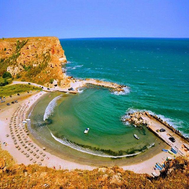 Las mejores playas de Bulgaria. La playa de Bolata. Fuente: @travelata.ru, Instagram