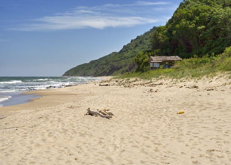 La playa de Irakli, Fuente: Wikipedia