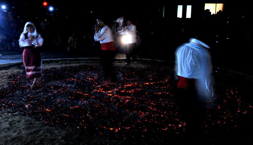 Los festivales búlgaros. El Festival de danzas nestinari. Fuente: Wikipedia