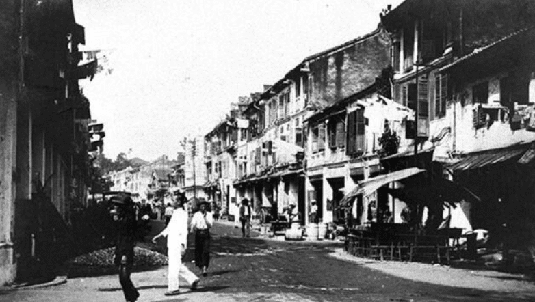 colonia británica en Singapur