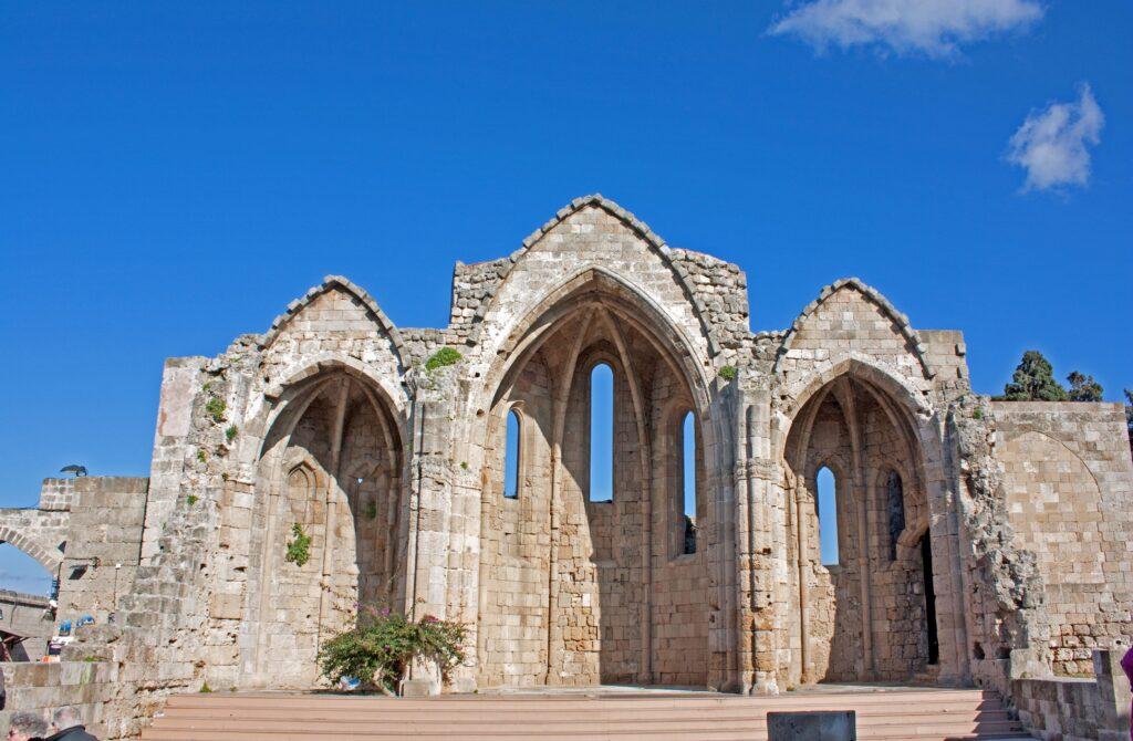 El casco histórico de Rodas, Fuente: Wikipedia