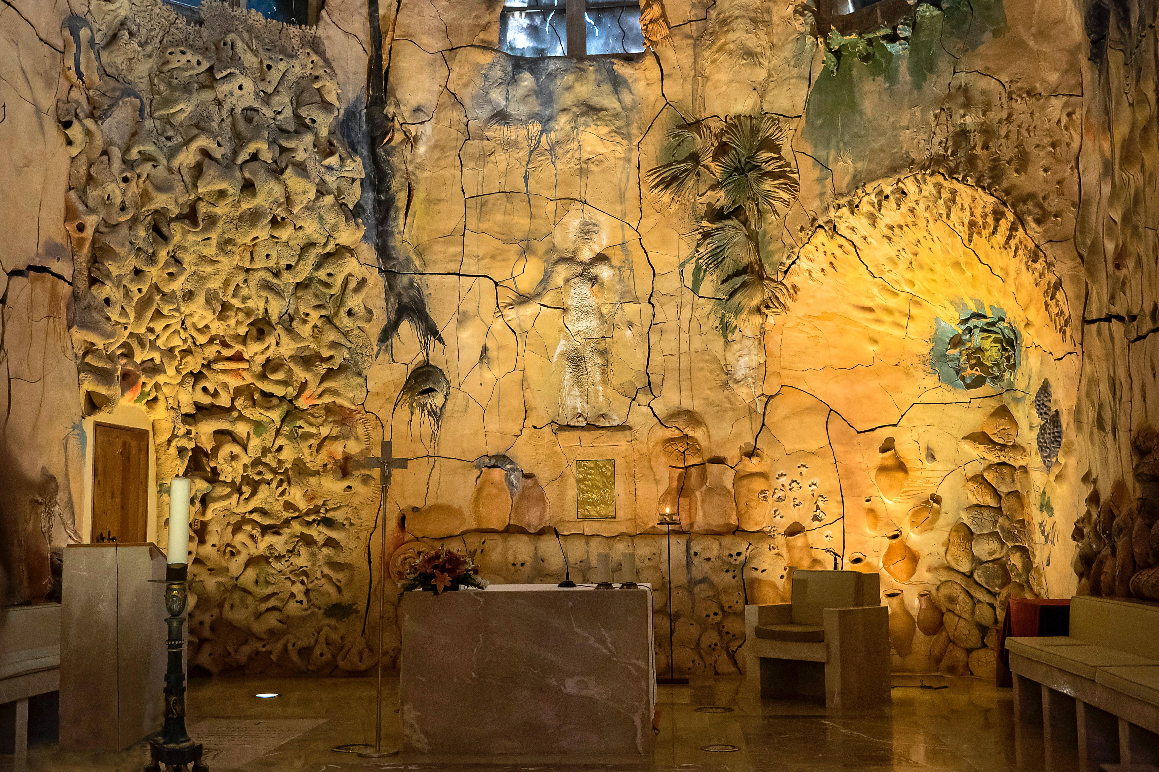 Mural de la catedral de Palma de Mallorca